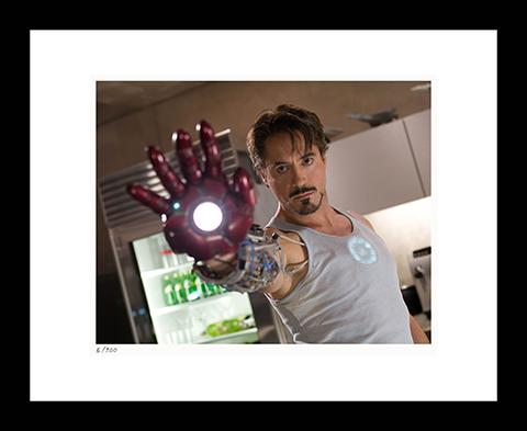 Classic Stills Iron Man Art Print