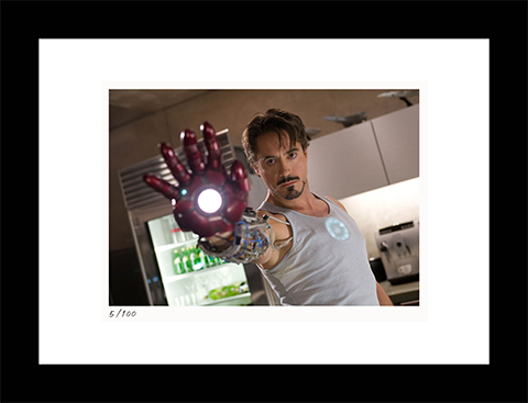 Classic Stills Iron Man Art Print
