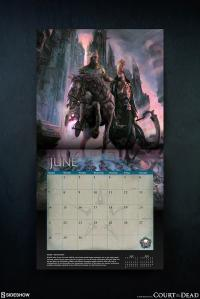 Gallery Image of Court of the Dead 2020 Deluxe Wall Calendar Office Supplies