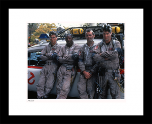 The Ghostbusters & Ecto-1 Art Print