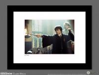 Gallery Image of Harry Duels With Draco Art Print