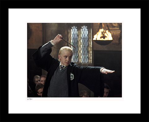 Classic Stills Draco Duels With Harry Art Print