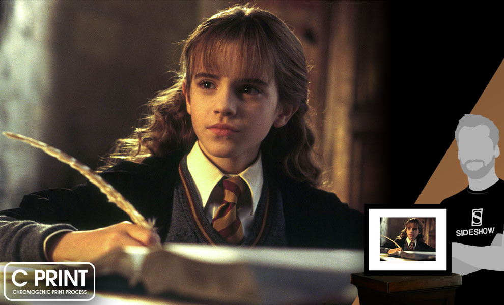 Gallery Feature Image of Hermione Does Homework Art Print - Click to open image gallery
