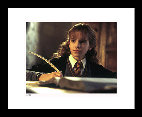 Classic Stills Hermione Does Homework Art Print