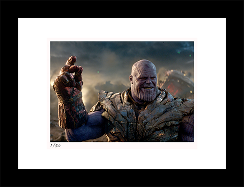 Classic Stills I Am Inevitable Art Print