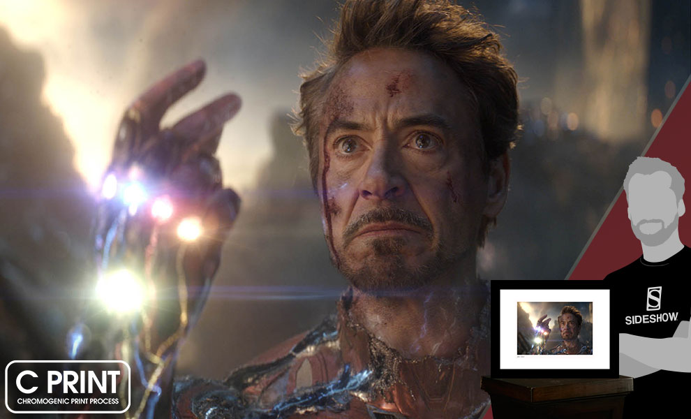 Gallery Feature Image of I Am Iron Man Art Print - Click to open image gallery
