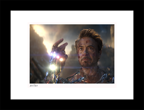 Classic Stills I Am Iron Man Art Print