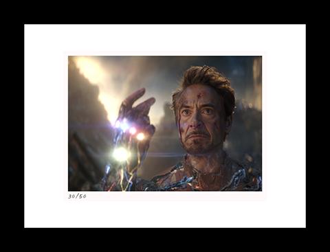 Classic Stills I Am Iron Man Art Print