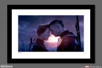 Gallery Image of Natasha & Clint Say Goodbye Art Print