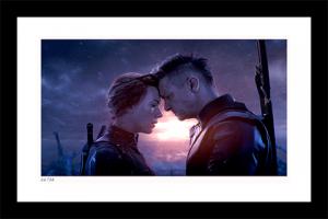 Natasha & Clint Say Goodbye Art Print
