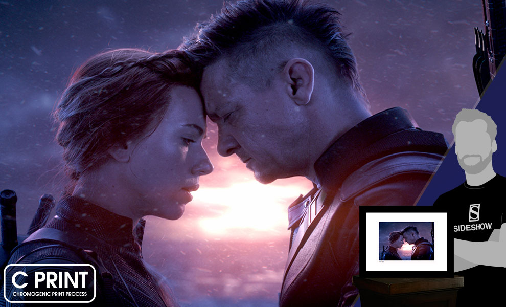 Gallery Feature Image of Natasha & Clint Say Goodbye Art Print - Click to open image gallery