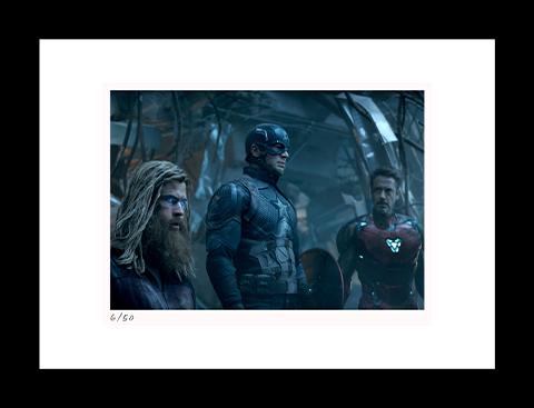 Classic Stills Thor, Cap & Tony Art Print