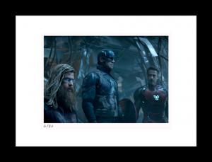 Thor, Cap & Tony Art Print