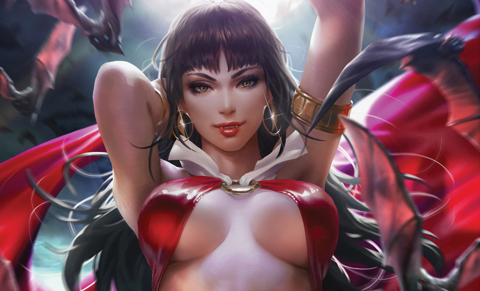 Gallery Feature Image of Vampirella Art Print - Click to open image gallery