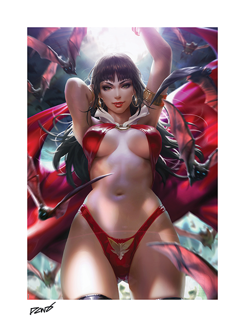 Sideshow Collectibles Vampirella Art Print