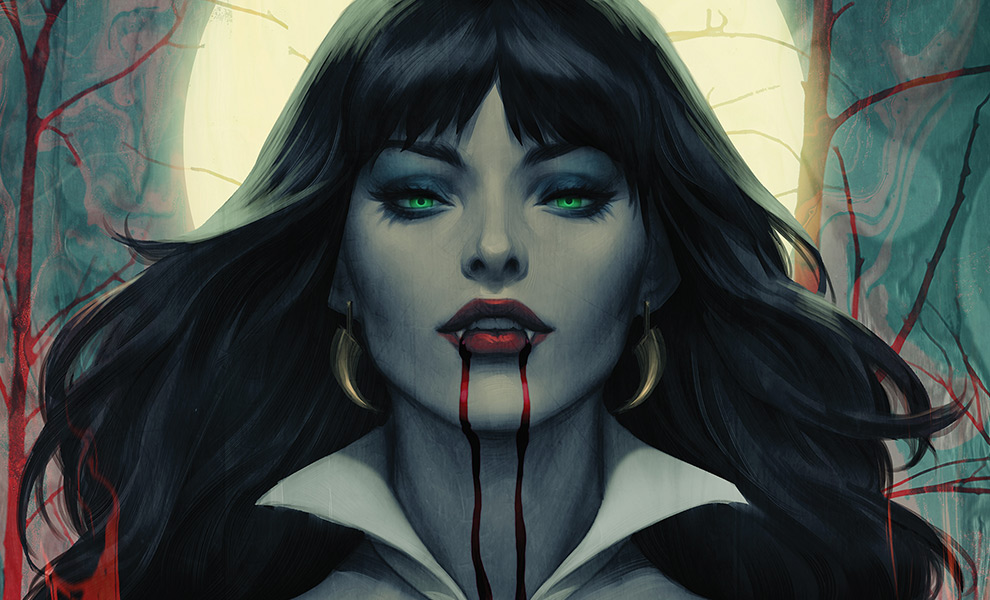 Gallery Feature Image of Vampirella #2 Art Print - Click to open image gallery