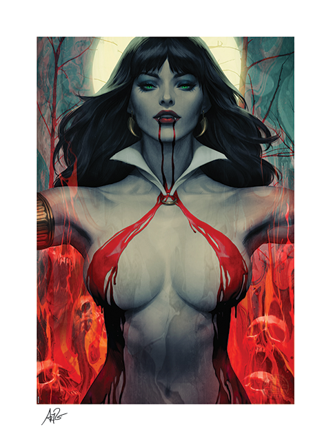 Sideshow Collectibles Vampirella #2 Art Print