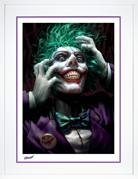 Sideshow Collectibles The Joker: Just One Bad Day Art Print