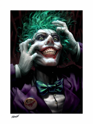 The Joker: Just One Bad Day Art Print
