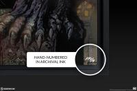 Gallery Image of Batman™: The Dark Knight HD Aluminum Metal Variant Art Print