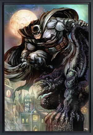 Batman™: The Dark Knight HD Aluminum Metal Variant Art Print