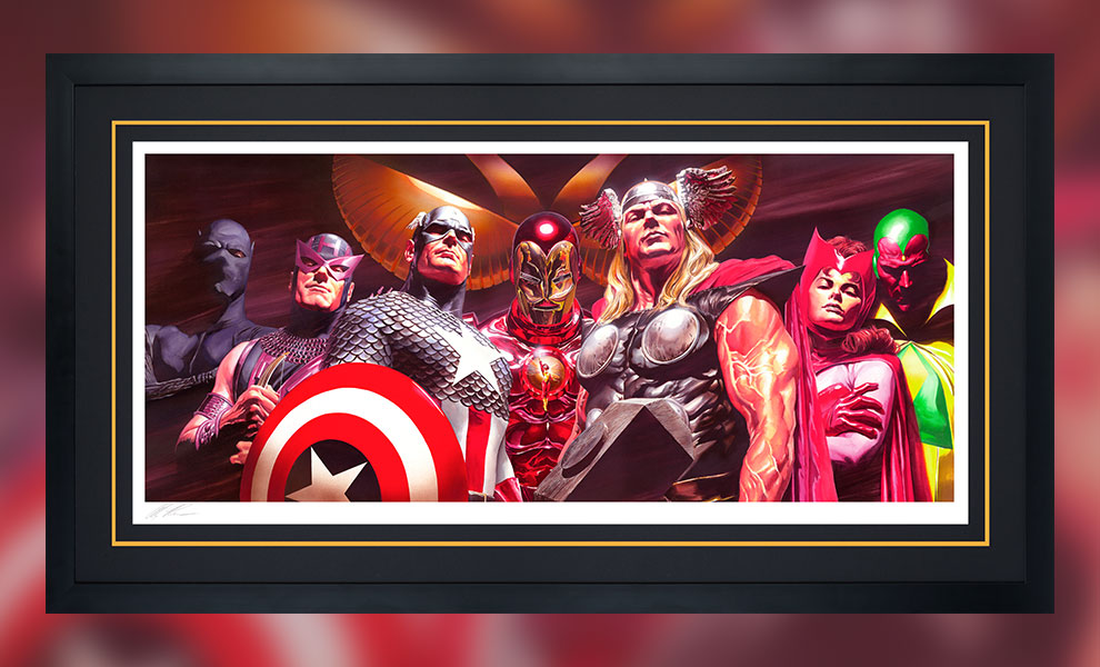 Gallery Feature Image of Assemble Art Print - Click to open image gallery