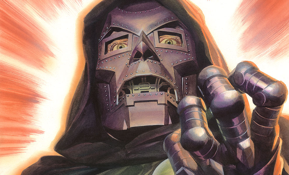 Gallery Feature Image of Doctor Doom Art Print - Click to open image gallery