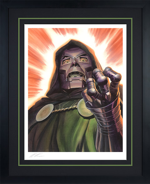 Alex Ross Art Doctor Doom Art Print