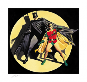 The Dynamic Duo! Art Print