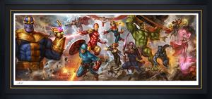 The Avengers: Earth's Mightiest Heroes Art Print