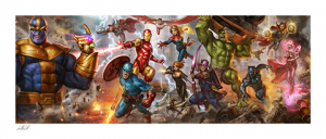 The Avengers: Earth's Mightiest Heroes Art Print