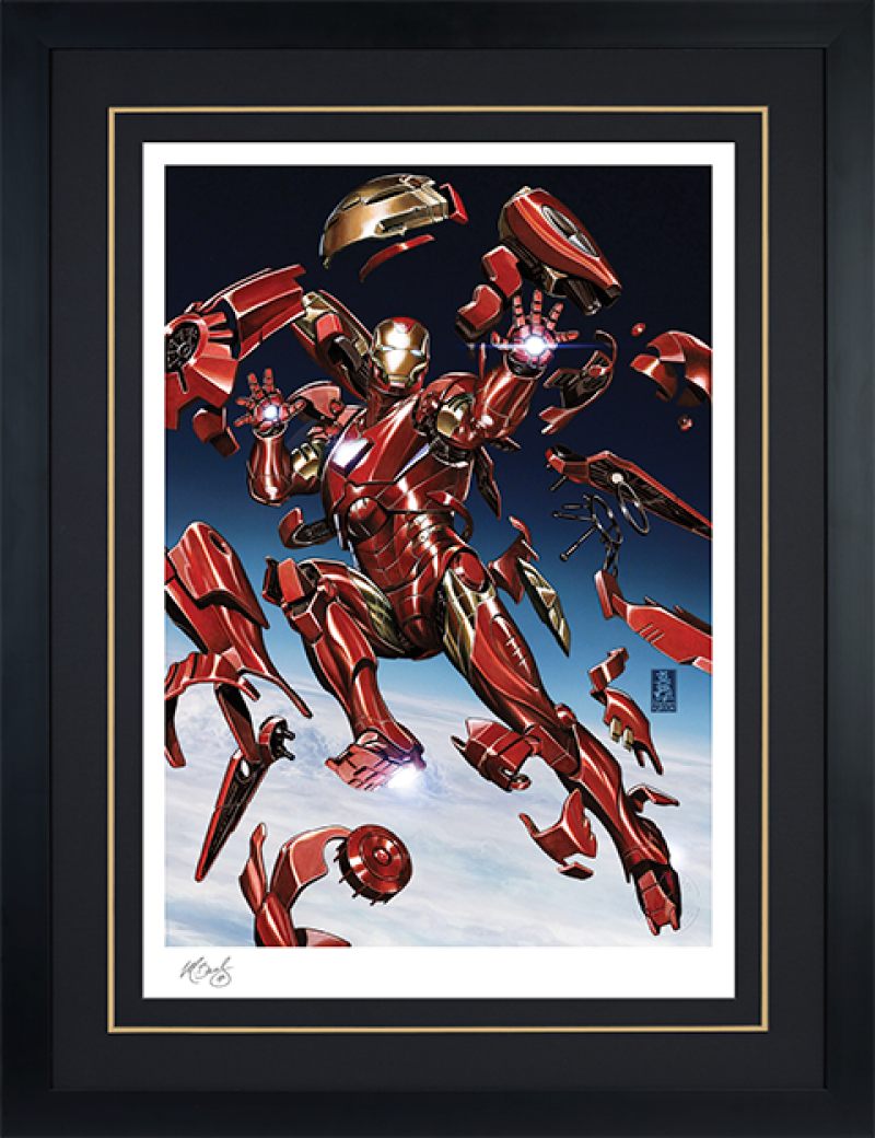Tony Stark: Iron Man Art Print -