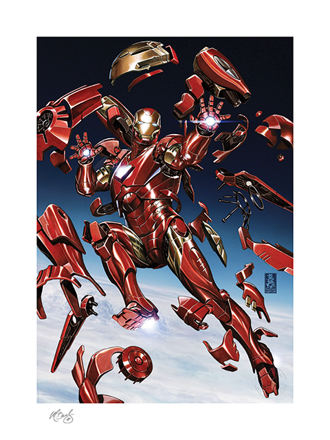 Sideshow Collectibles Tony Stark: Iron Man Art Print