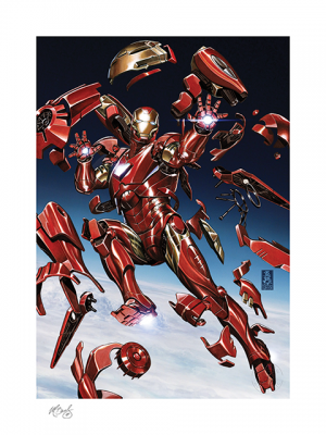 Tony Stark: Iron Man Art Print