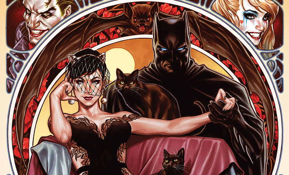 Gallery Feature Image of Batman & Catwoman Art Print - Click to open image gallery