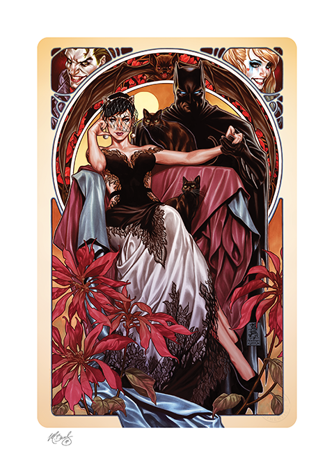Sideshow Collectibles Batman & Catwoman Art Print