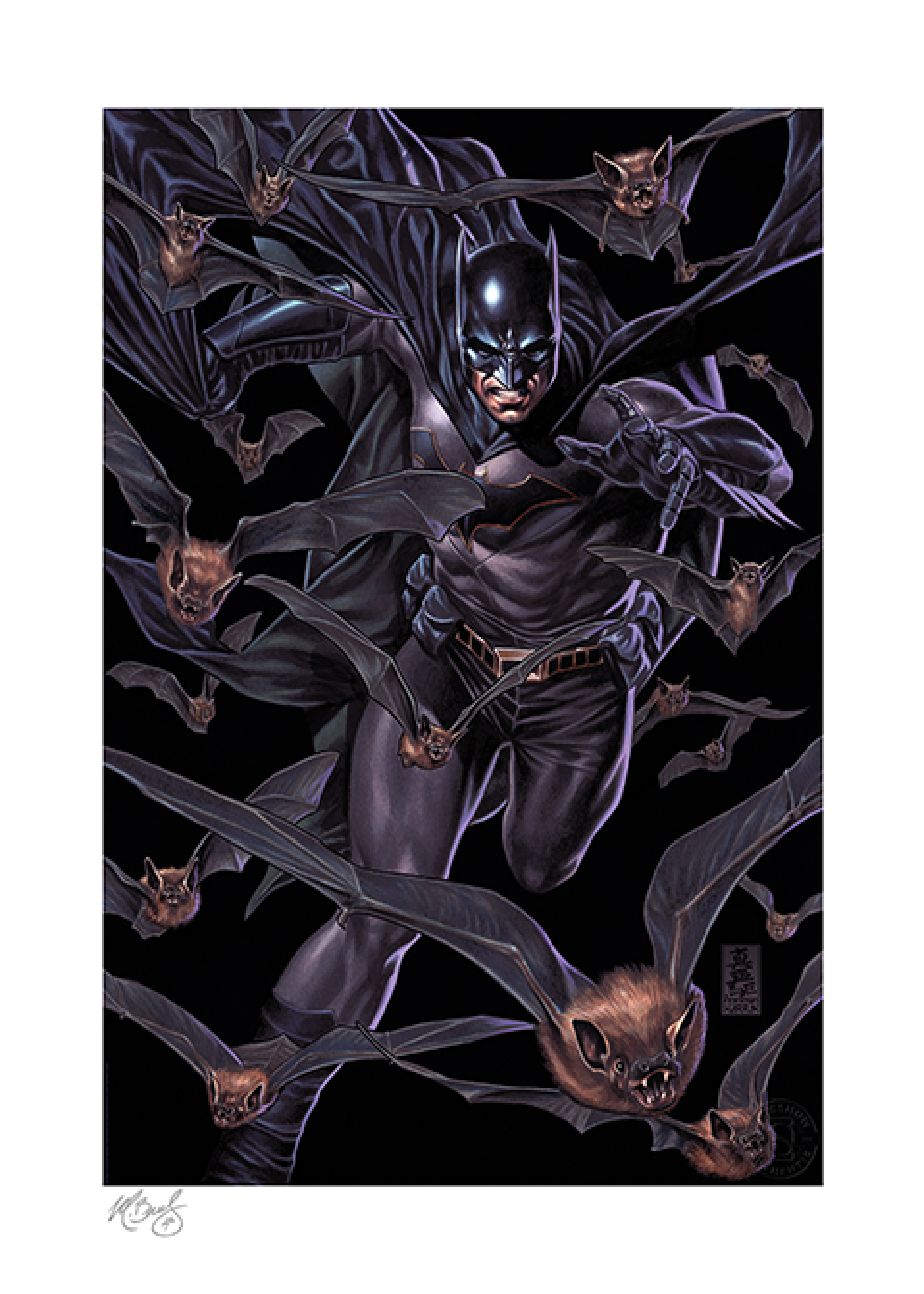 Sideshow Collectibles Batman: Detective Comics #985 Art Print