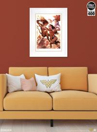 Gallery Image of Justice League: Wonder Woman vs Cheetah Art Print