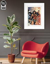 Gallery Image of Justice League Art Print