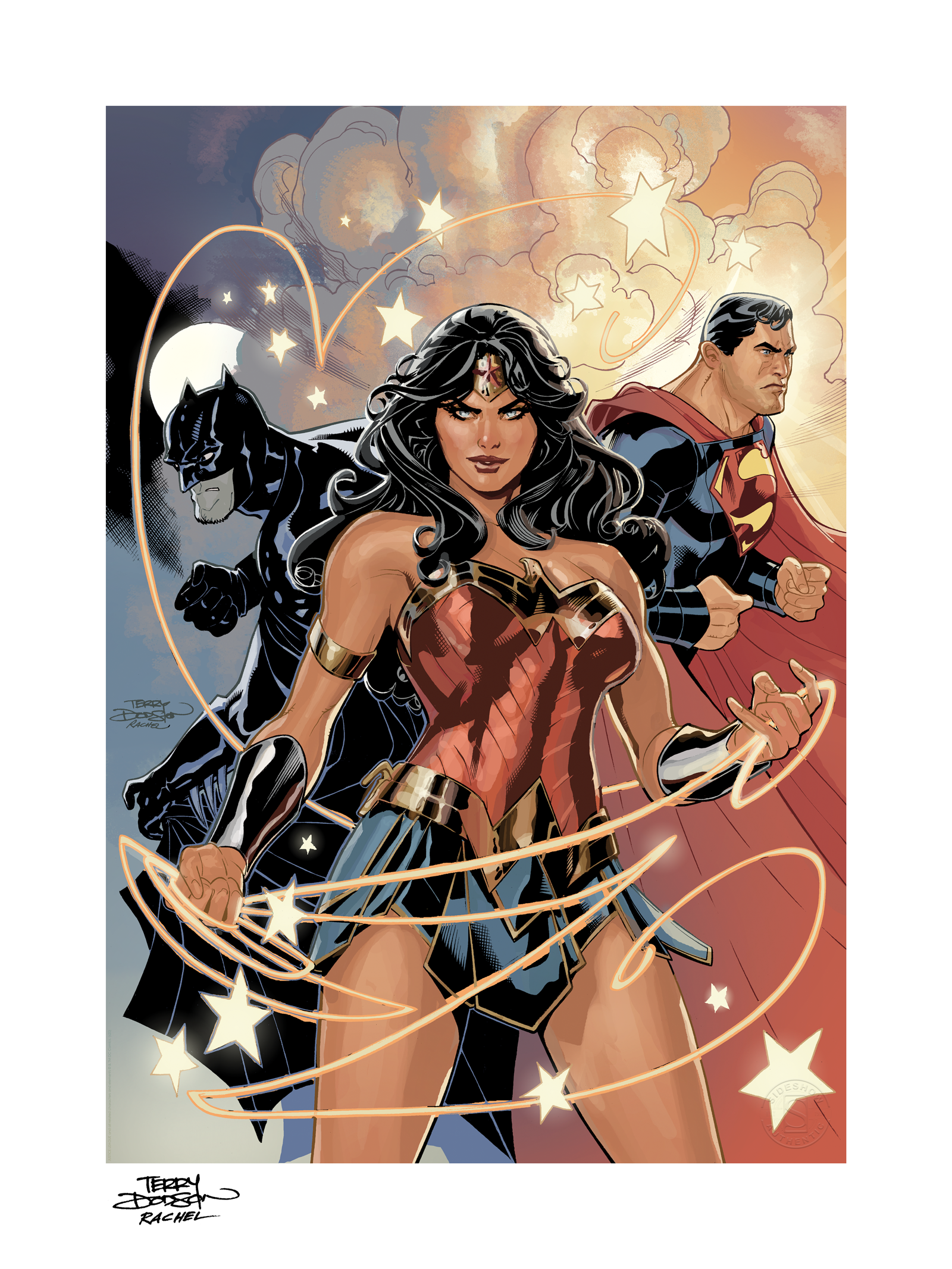 Sideshow Collectibles Justice League Art Print