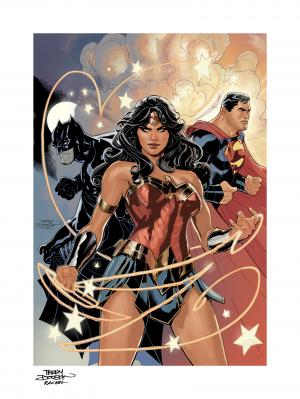 Justice League Art Print