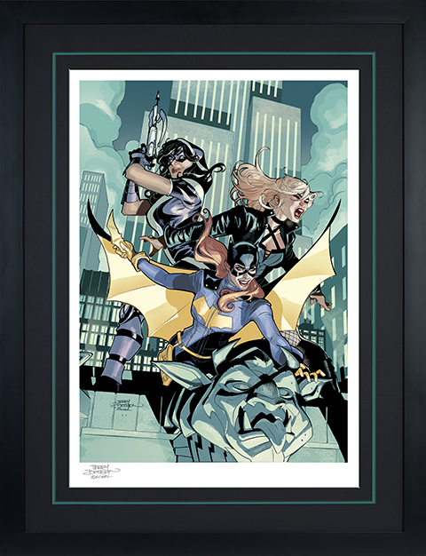 Sideshow Collectibles Batgirl & The Birds of Prey Art Print