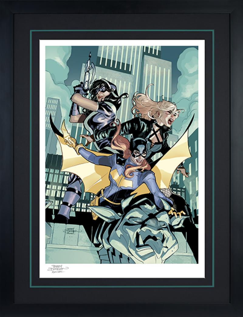 Batgirl & The Birds of Prey Art Print -