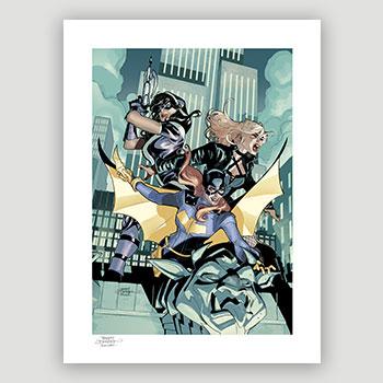 Batgirl & The Birds of Prey Art Print