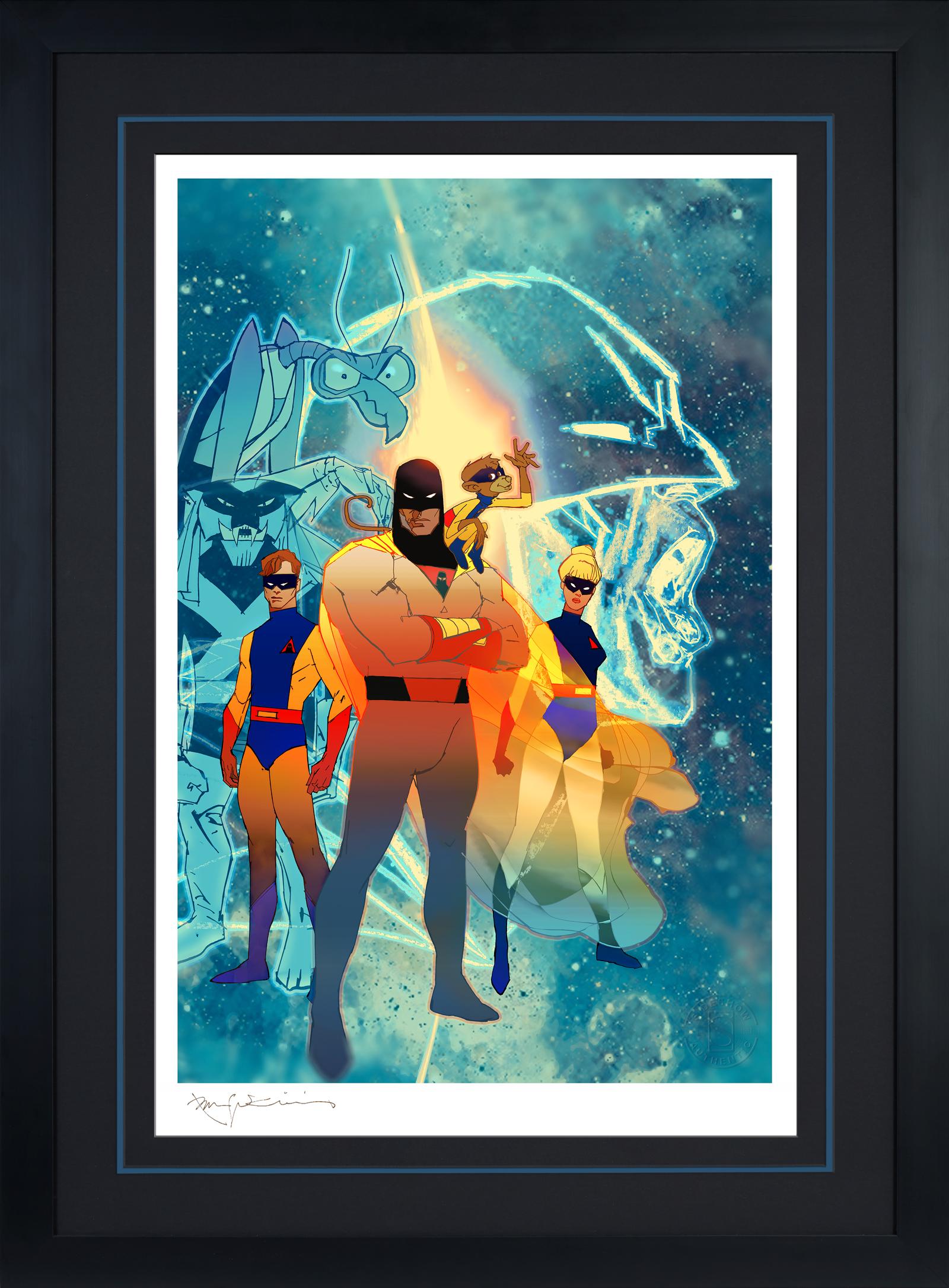 Bill Sienkiewicz Space Ghost: Future Quest Art Print