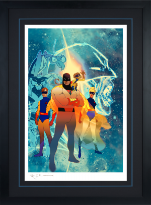 Space Ghost: Future Quest Art Print