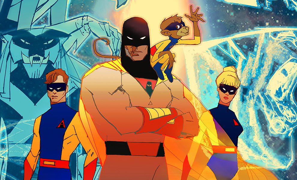 Gallery Feature Image of Space Ghost: Future Quest Art Print - Click to open image gallery