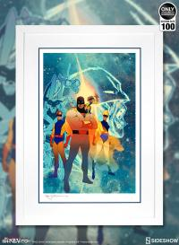 Gallery Image of Space Ghost: Future Quest Art Print