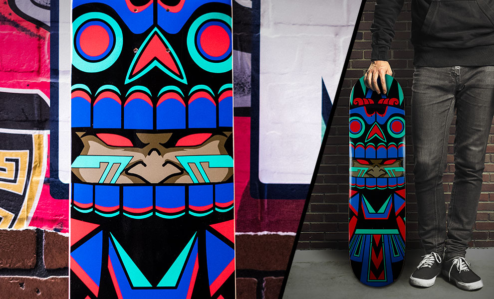 Gallery Feature Image of Mictlan Skateboard Deck - Click to open image gallery