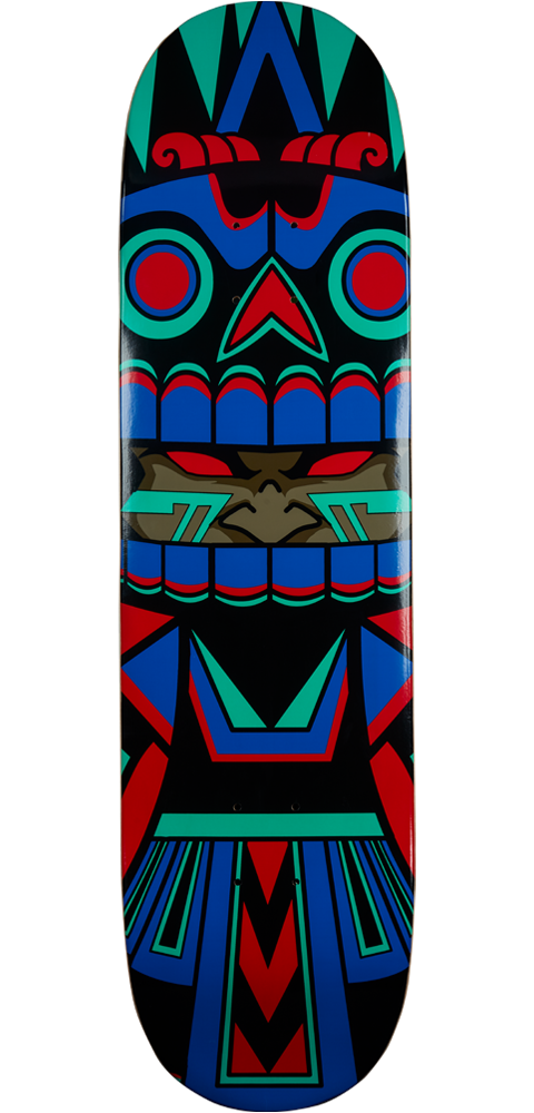 Unruly Industries(TM) Mictlan Skateboard Deck